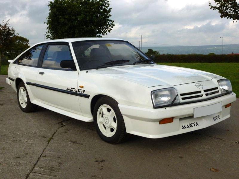 Lot 18-1987 Opel Manta GTE