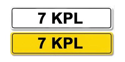 Lot 4 - Registration Number 7 KPL