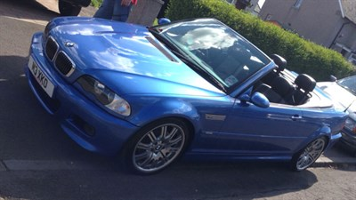 Lot 8-2003 BMW M3 SMG II Convertible