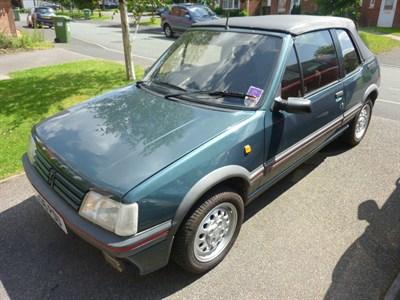 Lot 72-1993 Peugeot 205 CTi