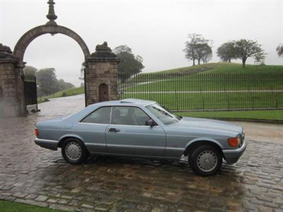 Lot 4-1988 Mercedes-Benz 560 SEC