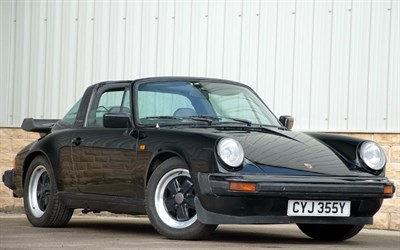 Lot 75-1983 Porsche 911 SC Targa