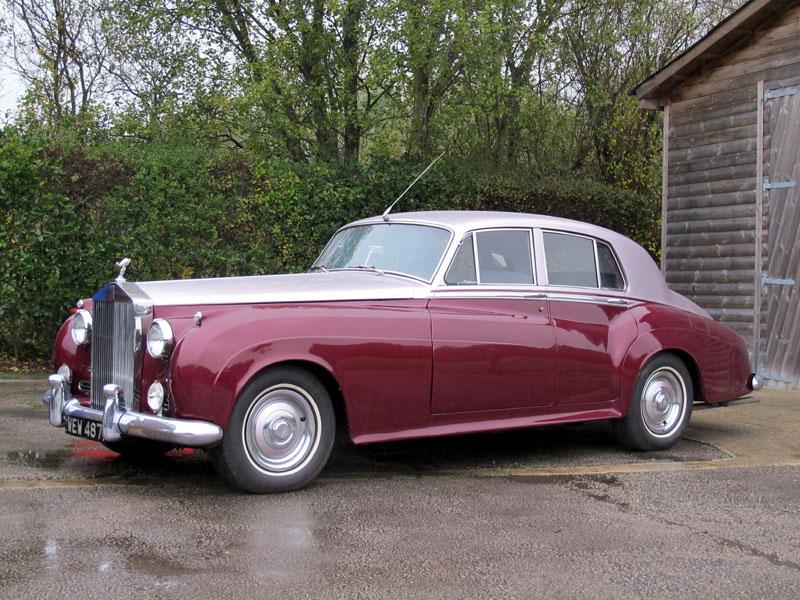 Lot 43-1956 Rolls-Royce Silver Cloud