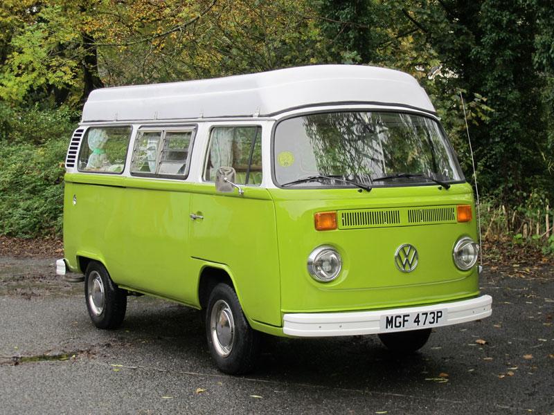 Lot 45-1975 Volkswagen Type 2 Camper Van