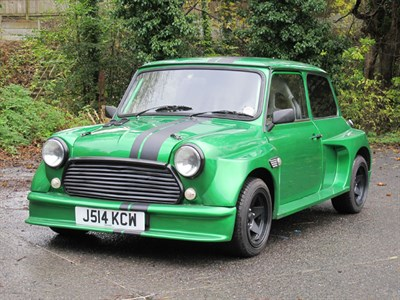 Lot 62-1991 Rover Mini Neon