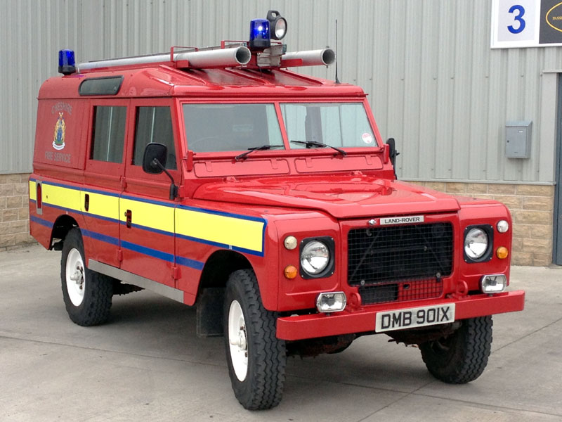 Lot 80-1981 Land Rover 109 Fire Appliance