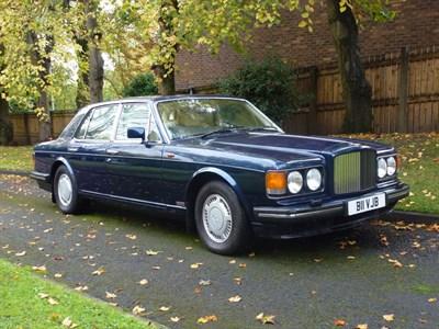 Lot 83-1990 Bentley Turbo R