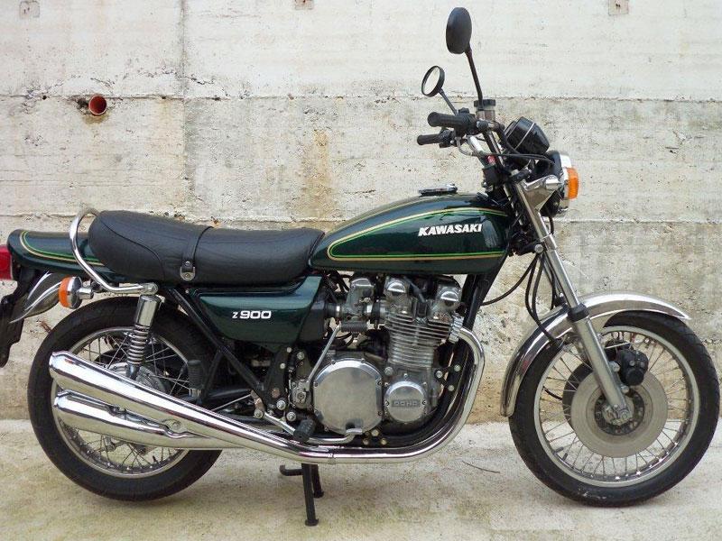 Lot 76-1976 Kawasaki KZ900 A4