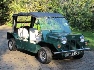 Lot 13-1966 Austin Mini Moke