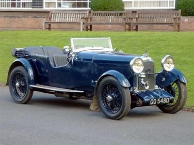 Lot 26-1931 Lagonda 2 Litre Low Chassis Speed Model Tourer