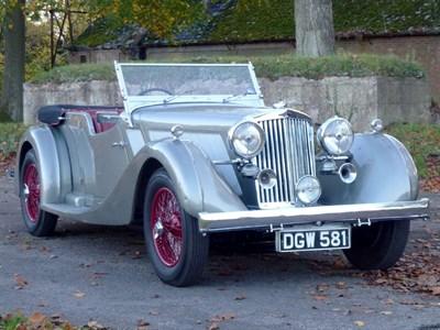 Lot 52-1936 Talbot 110 Speed Tourer