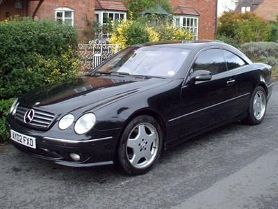 Lot 7-2002 Mercedes-Benz CL 500