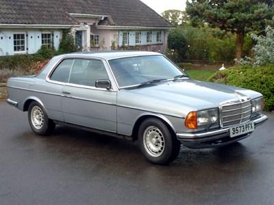 Lot 63-1984 Mercedes-Benz 280 CE