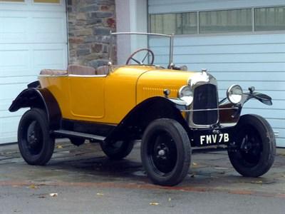 Lot 49-1924 Citroen Type C 5CV 'Cloverleaf' Tourer
