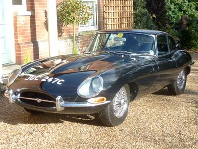 Lot 25-1965 Jaguar E-Type 4.2 Coupe