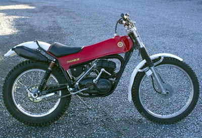 Lot 16-1977 Montesa Cota 348