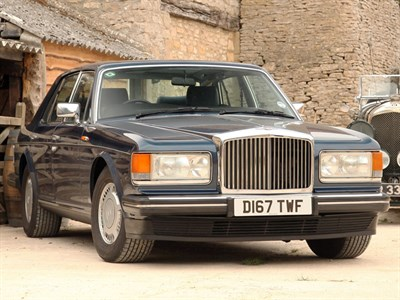 Lot 28-1987 Bentley Turbo R