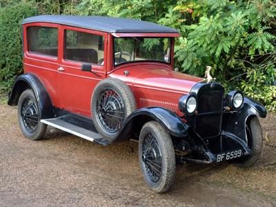 Lot 11-1928 Nash Standard Six Saloon