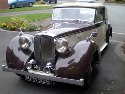 Lot 29-1948 Alvis TA14 Drophead Coupe