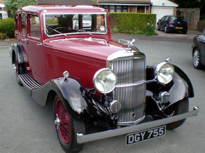 Lot 33-1936 Alvis Crested Eagle TF 19.82 Saloon