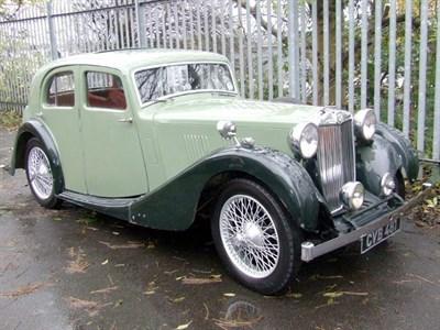 Lot 39-1937 MG VA Saloon