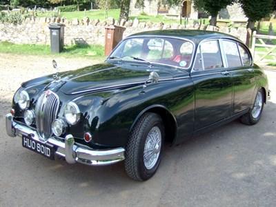 Lot 38-1966 Jaguar MK II 3.4 Litre