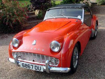 Lot 40-1960 Triumph TR3A
