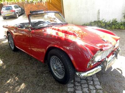 Lot 44-1962 Triumph TR4