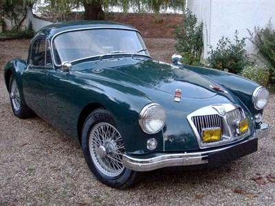 Lot 41-1959 MG A 1500 Coupe
