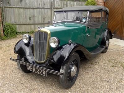 Lot 42-1937 Morris Eight Series II Tourer