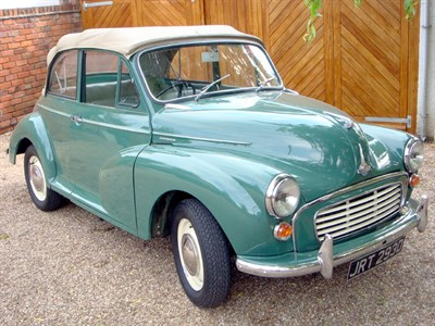 Lot 53-1966 Morris Minor 1000 Convertible