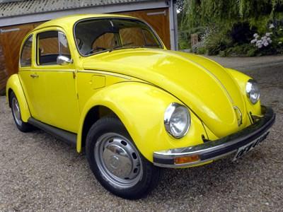 Lot 54-1977 Volkswagen Beetle 1200
