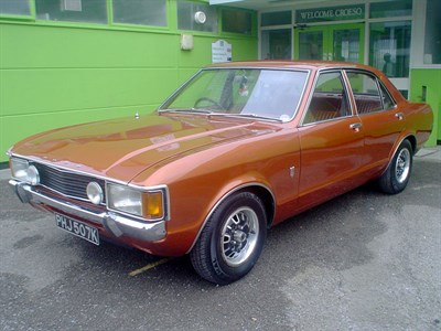 Lot 3-1972 Ford Consul 3.0 GT