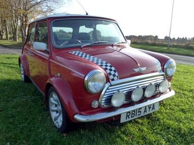 Lot 5-1998 Rover Mini Cooper Sport