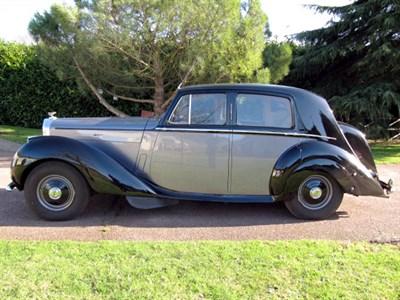 Lot 23-1952 Bentley MK VI Saloon