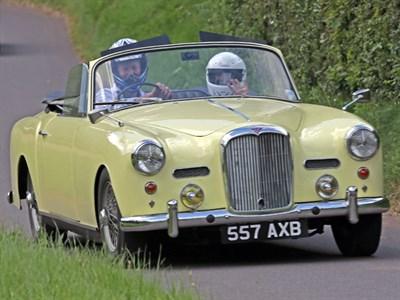 Lot 67-1960 Alvis TD21 Drophead Coupe