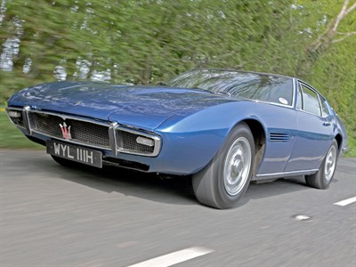 Lot 68-1969 Maserati Ghibli