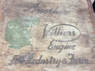 Lot 27-Villiers 2T Engine