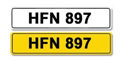Lot 1-Registration Number HFN 897
