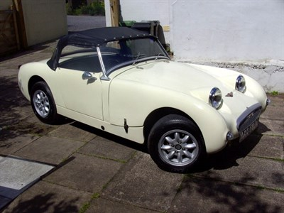 Lot 42-1961 Austin-Healey Sebring Sprite Evocation