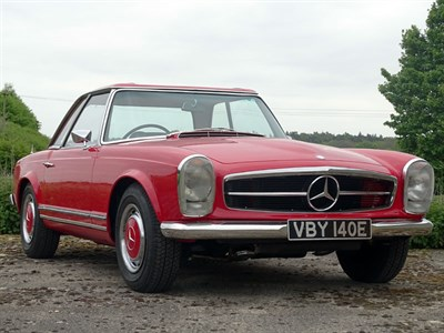 Lot 40-1967 Mercedes-Benz 250 SL