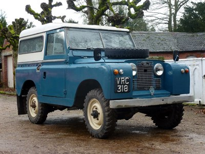 Lot 28 - 1960 Land Rover 88 Series II