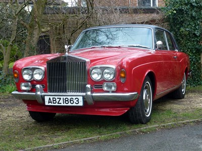 Lot 40 - 1973 Rolls-Royce Corniche Coupe