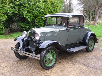 Lot 45 - 1931 Ford Model A 45-B Coupe