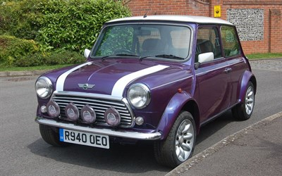 Lot 44 - 1998 Rover Mini Cooper Sport