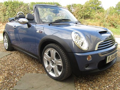 Lot 11-2004 Mini Cooper S Convertible 'John Cooper Works'