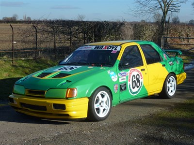 Lot 48-1988 Ford Sierra Sapphire RS Cosworth Race Car