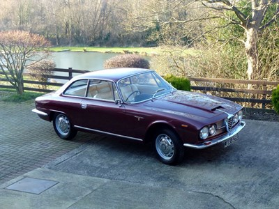 Lot 55 - 1966 Alfa Romeo 2600 Sprint