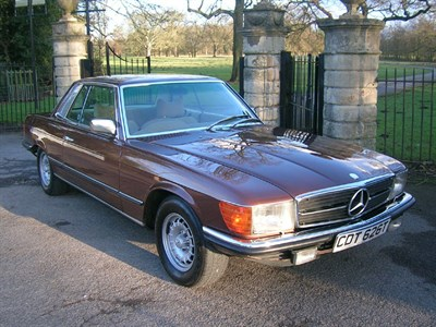 Lot 35-1979 Mercedes-Benz 450 SLC