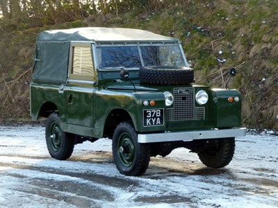 Lot 47-1960 Land Rover 88 Series II